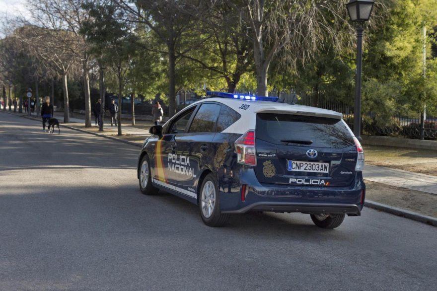 Toyota Prius Policia Nacional 06