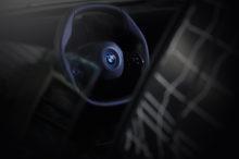 El BMW iNEXT, el próximo modelo 100% eléctrico de la marca, nos enseña su volante hexagonal
