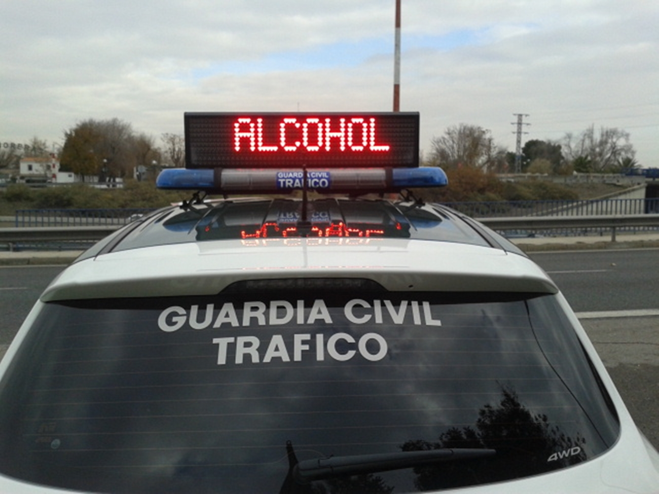 Control Alcohol Guardia Civil