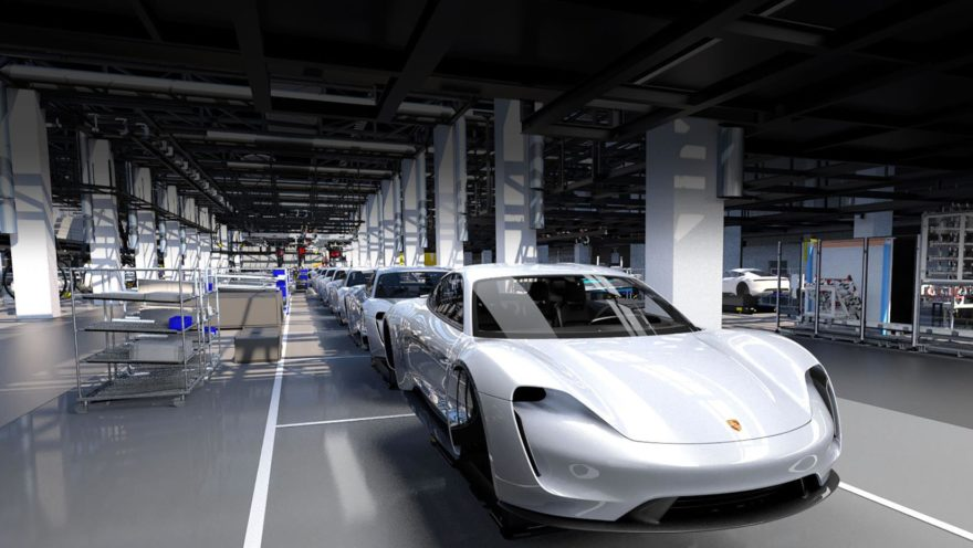 Porsche Taycan Fabrica 01
