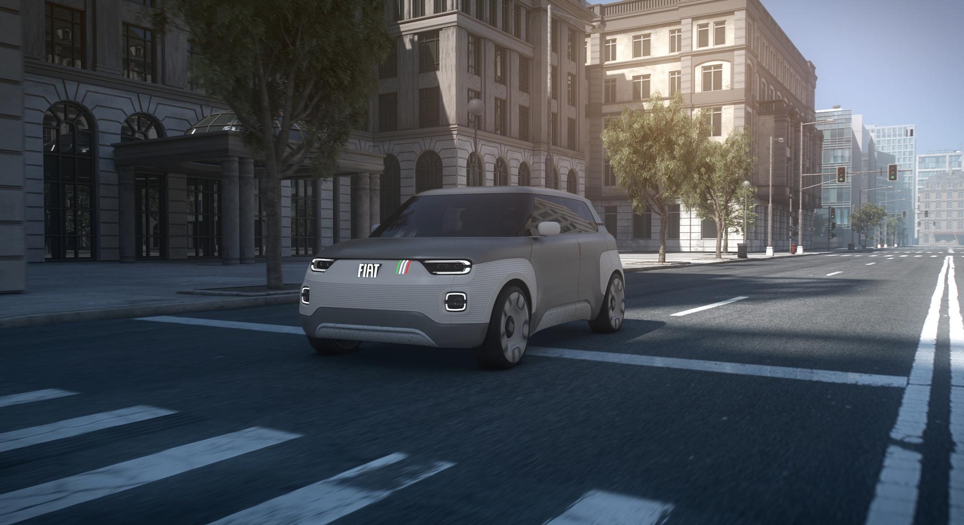 Fiat Concept Centoventi Hp