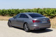 Prueba Audi A6 50 TDI 286 CV Quattro, berlina presidencial con etiqueta ECO