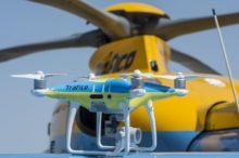 Ojo al cielo, los drones de la DGT comienzan a vigilar el tráfico en agosto