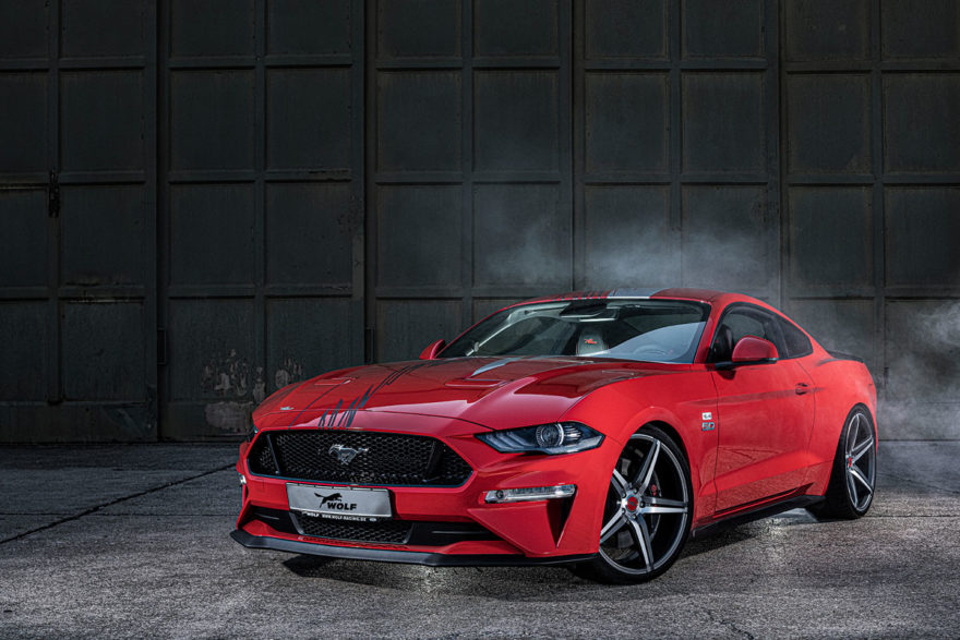 Ford Mustang Wolf Racing 04