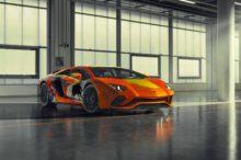 El Lamborghini Aventador S Art decorado por un artista de 19 años que ha triunfado en Pebble Beach