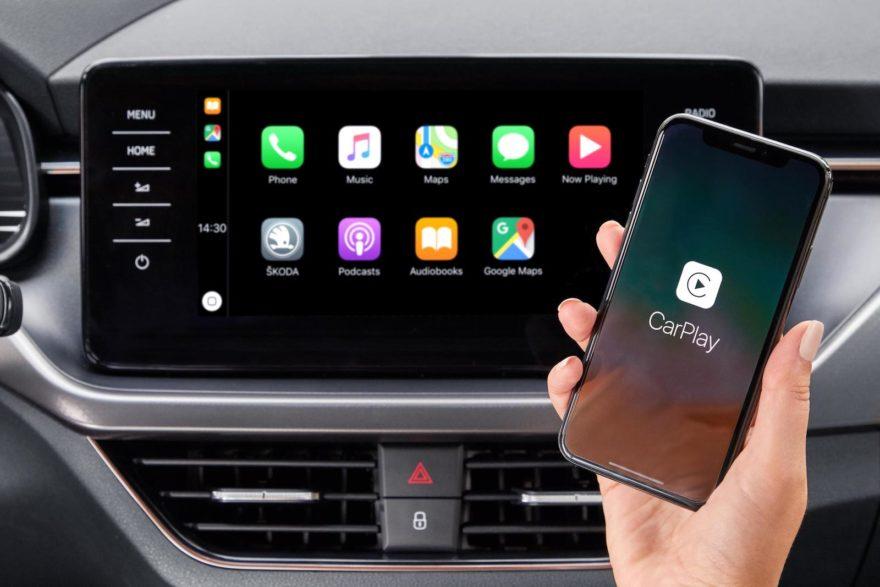 Skoda Apple Carplay Android Auto Inalambrico 02