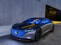 Mercedes-Benz EQS, el lujo electrificado ha llegado a la marca de la estrella
