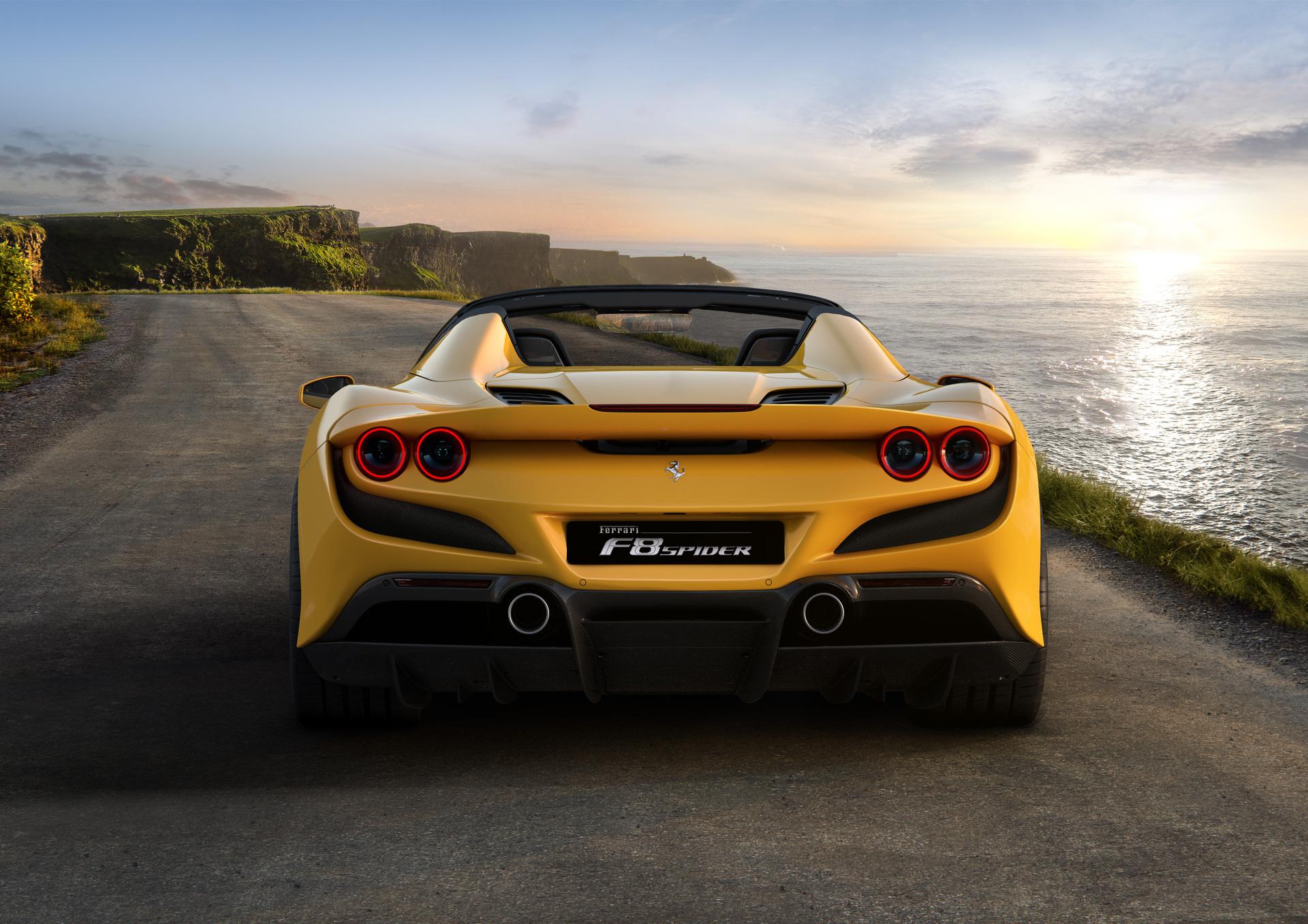 Ferrari F8 Spider I alquiler-coches-de-lujo-madrid