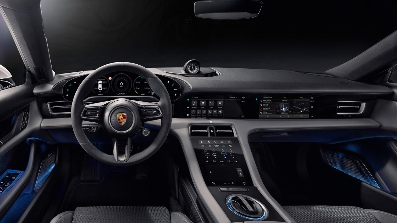 High Taycan Interior 2019 Porsche Ag (2)