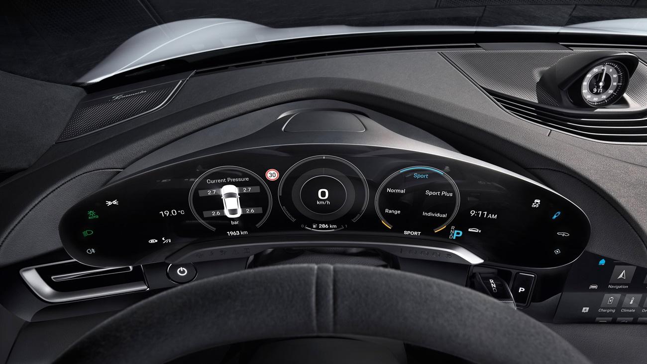 High Taycan Interior 2019 Porsche Ag