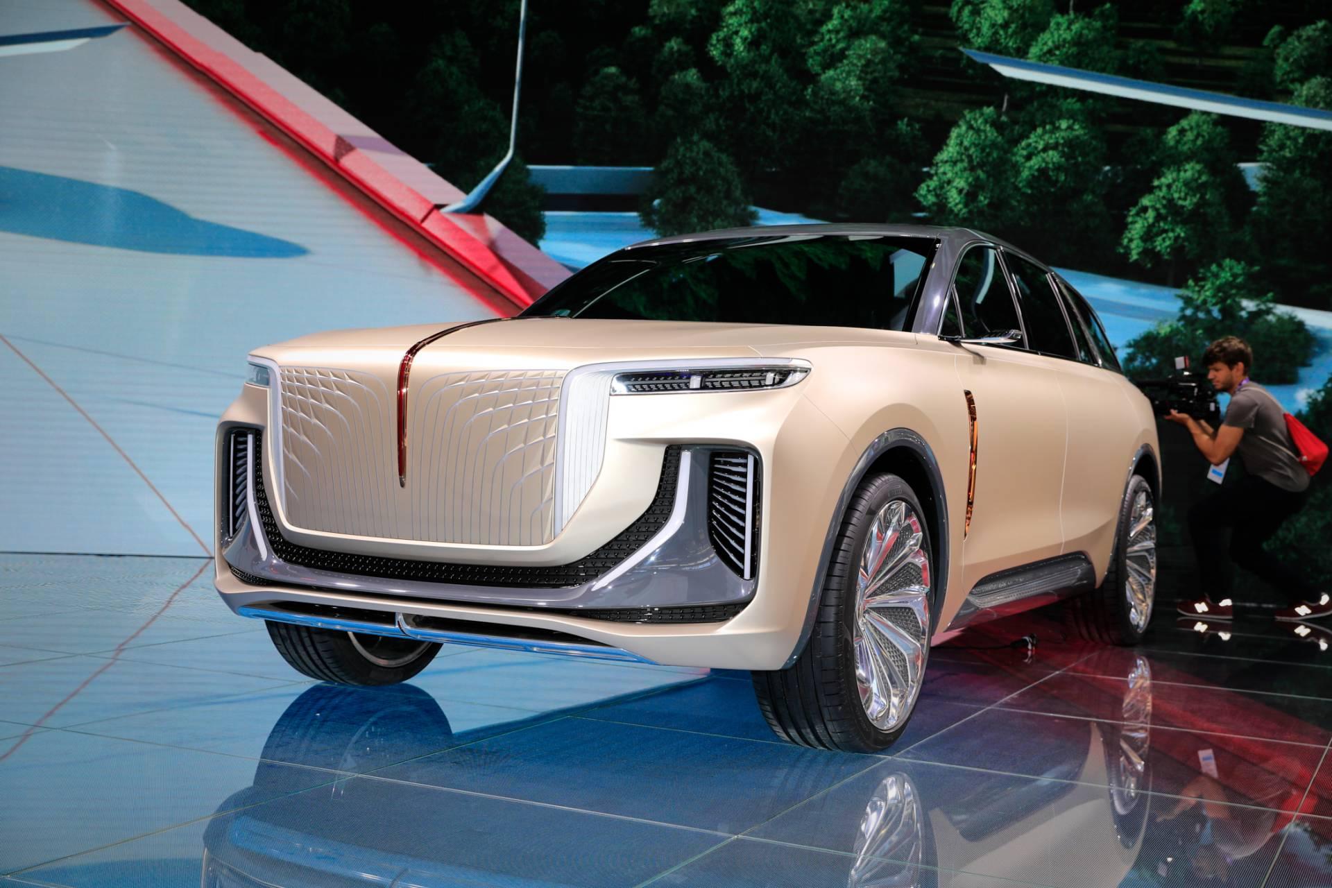 Hongqi Suv Electrico Concept