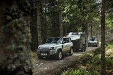Land Rover Defender se divierte antes de llegar al Salón de Frankfurt
