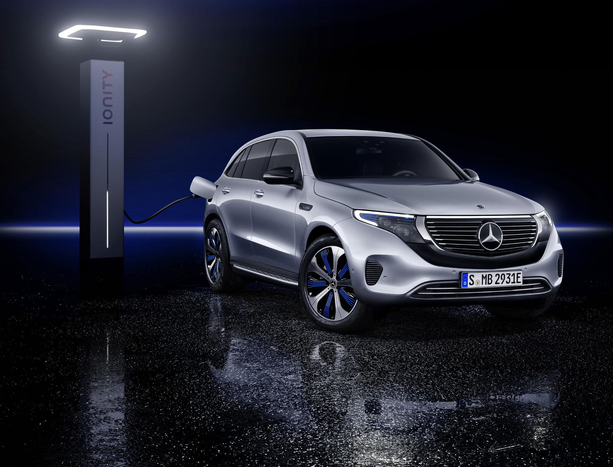 Mercedes EQC SUV 2019