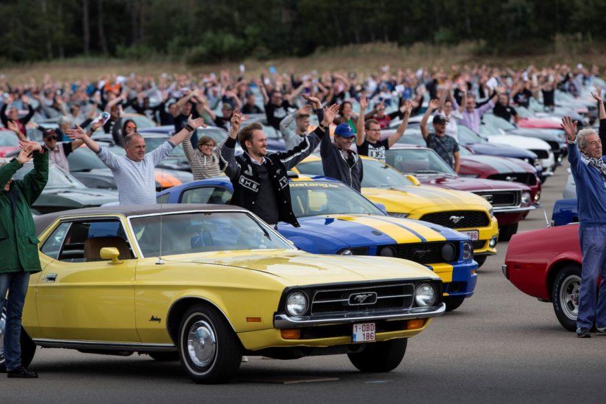 Mustang World Record