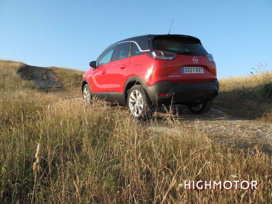 Prueba Opel Crossland X21