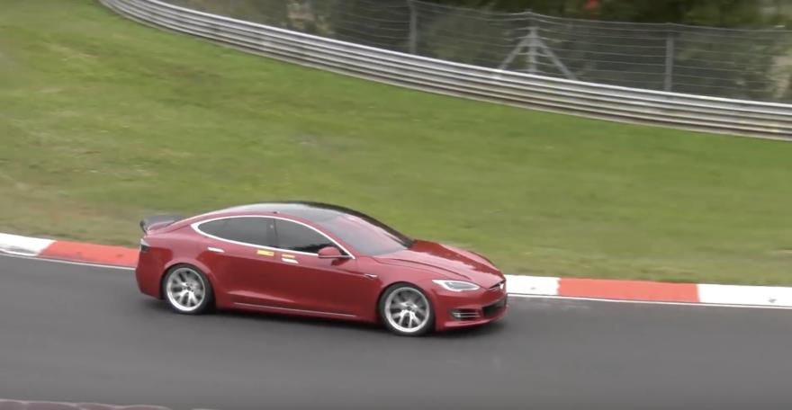 Tesla Model S Nurburgring 01