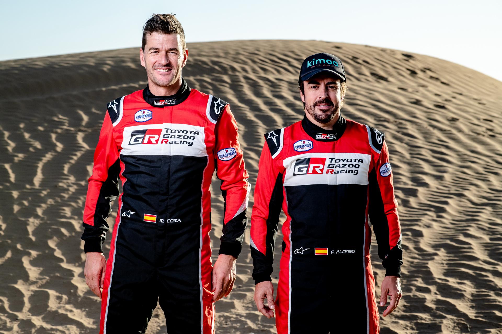 2020 Toyota Dakar Rally Team 03