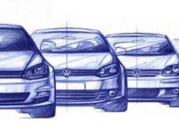 Volkswagen Golf Mk8 Bocetos (3)