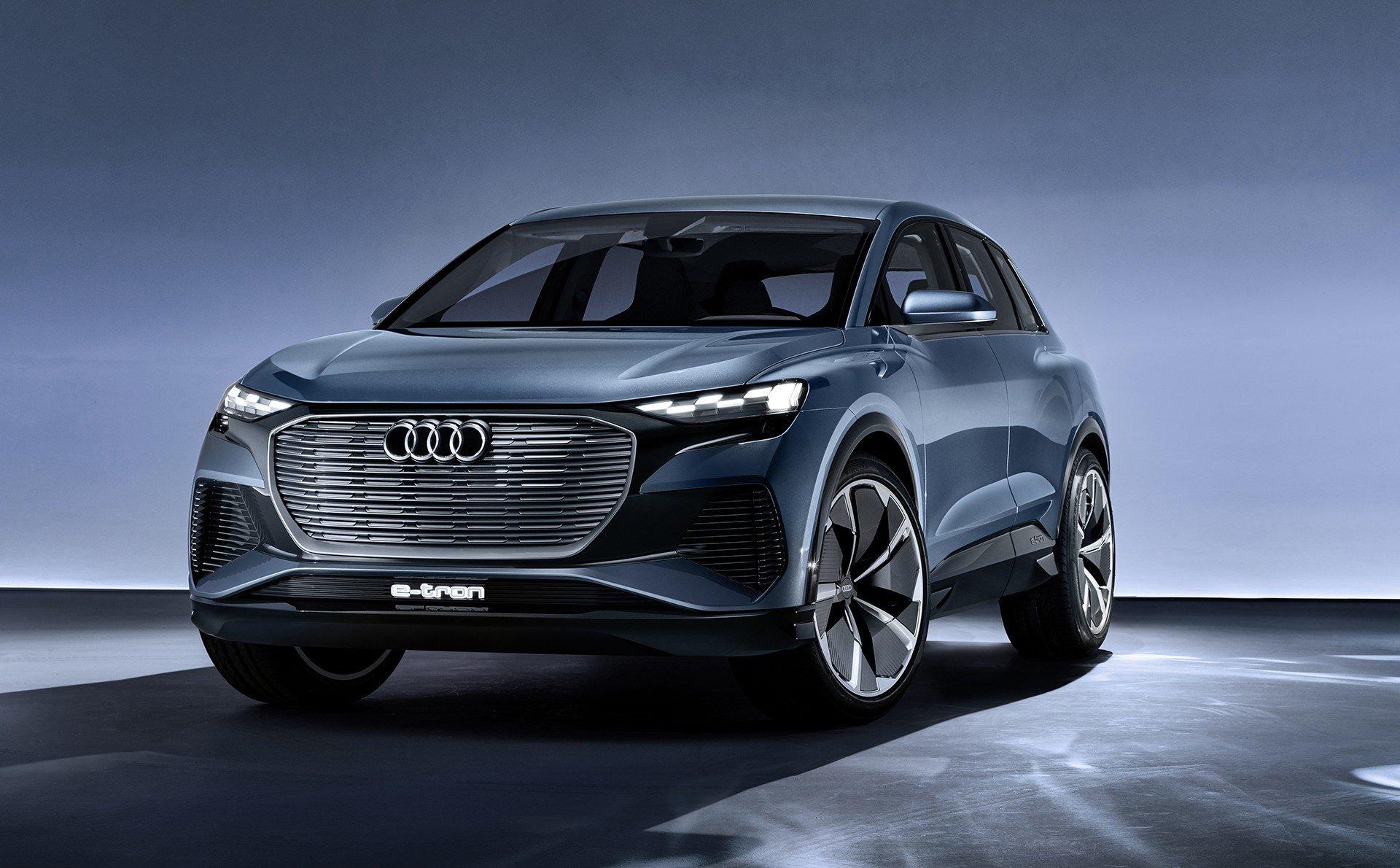 Audi Q4 E Tron Concept Electrico
