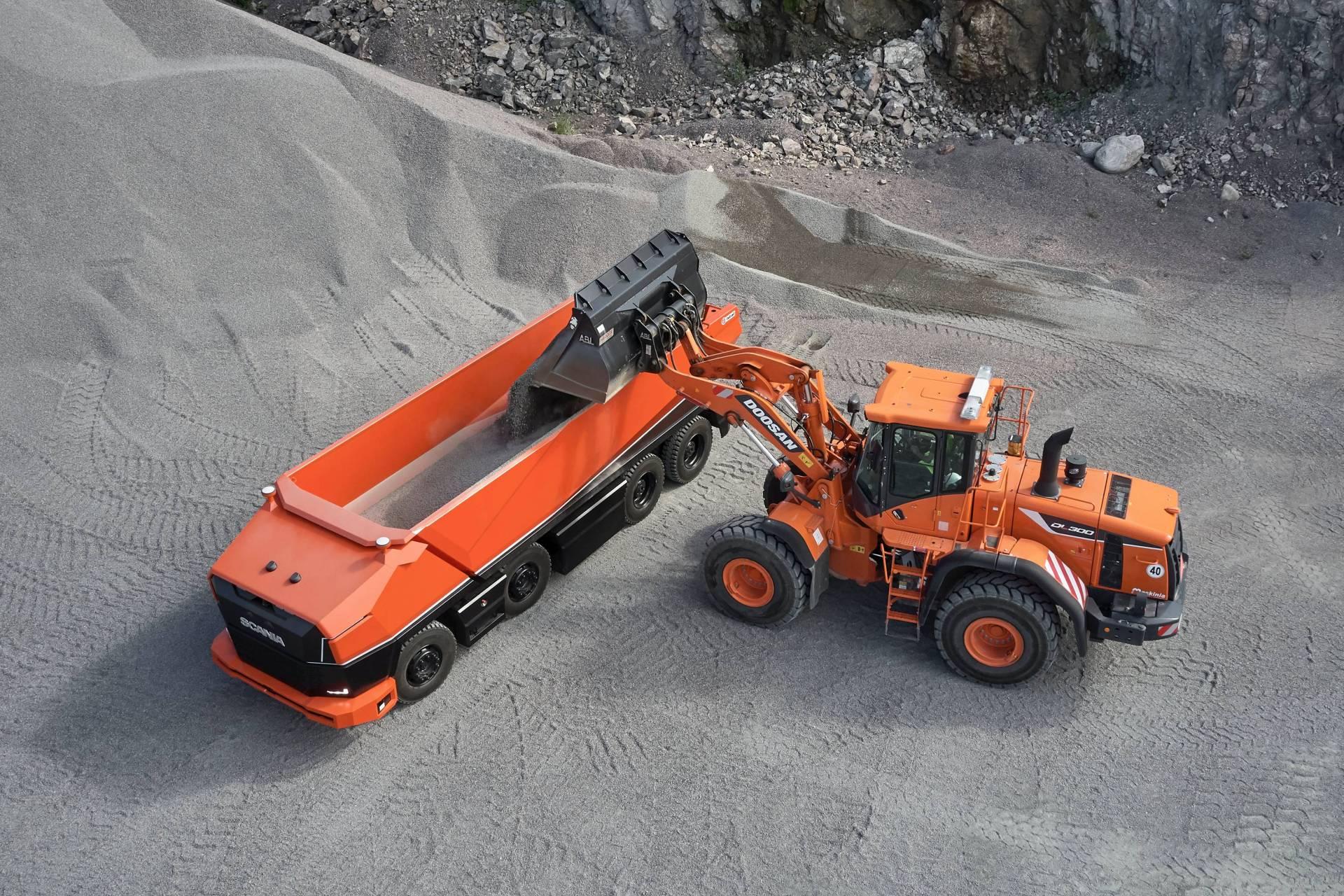 Camion Autonomo Scania 1