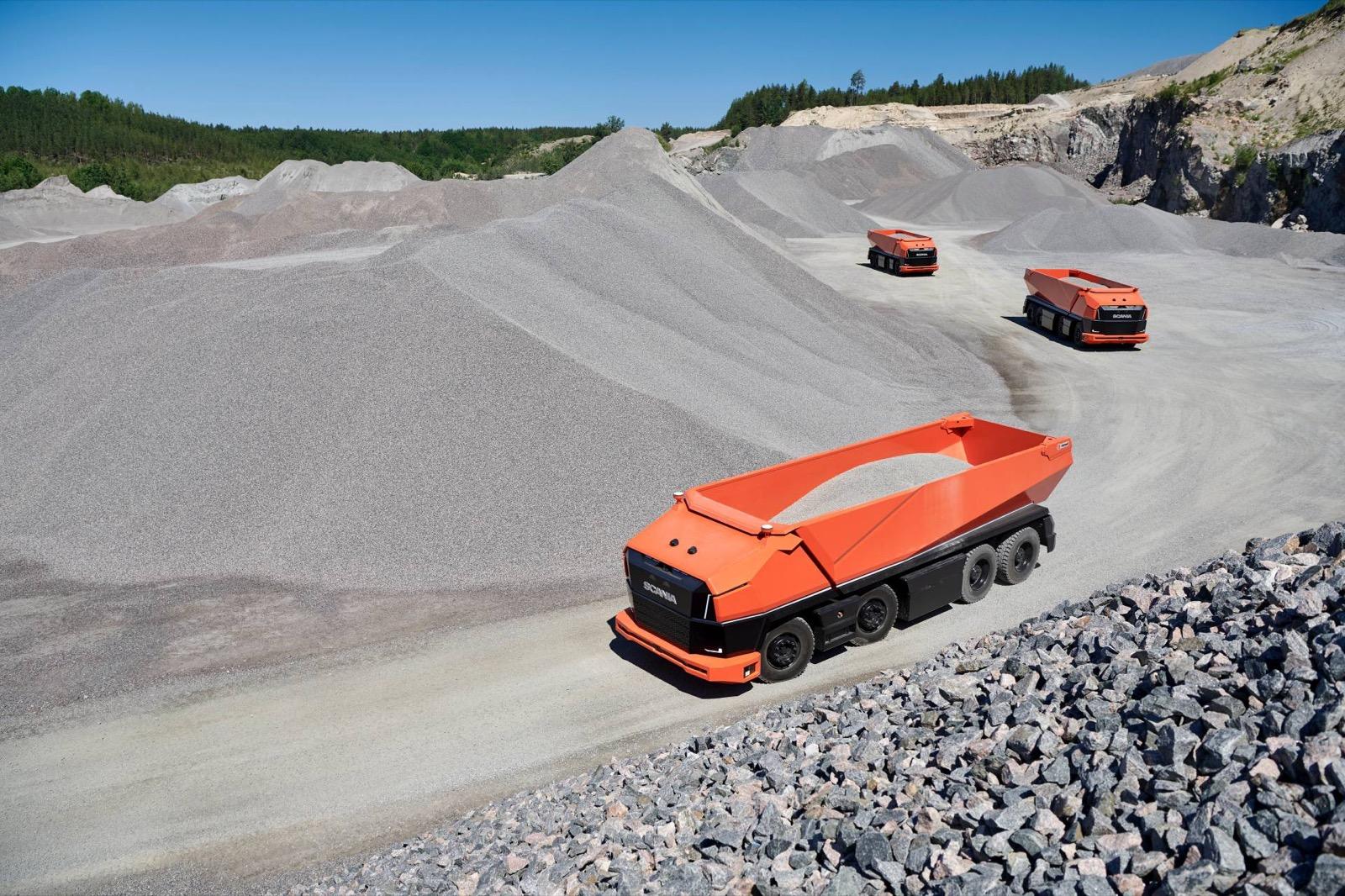 Camion Autonomo Scania 3