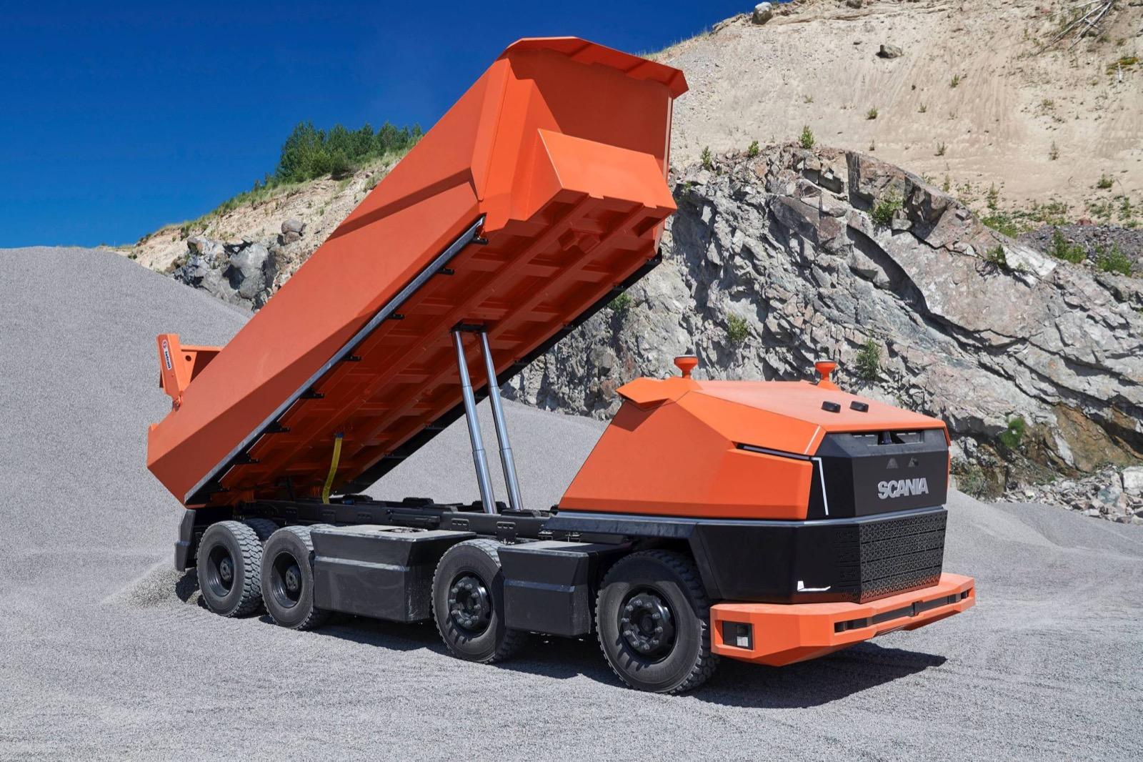 Camion Autonomo Scania 6