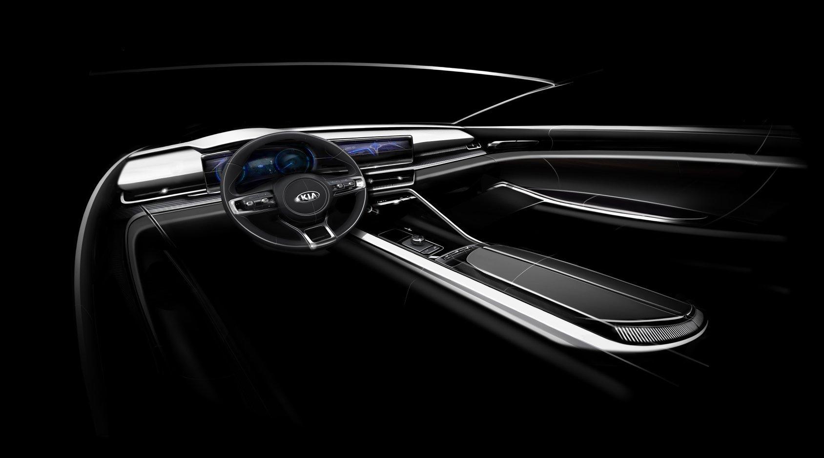 Kia Optima 2021 Interior