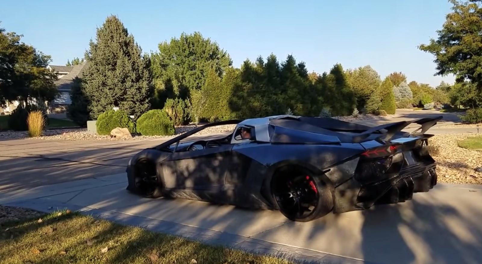 Lamborghini Aventador 3d