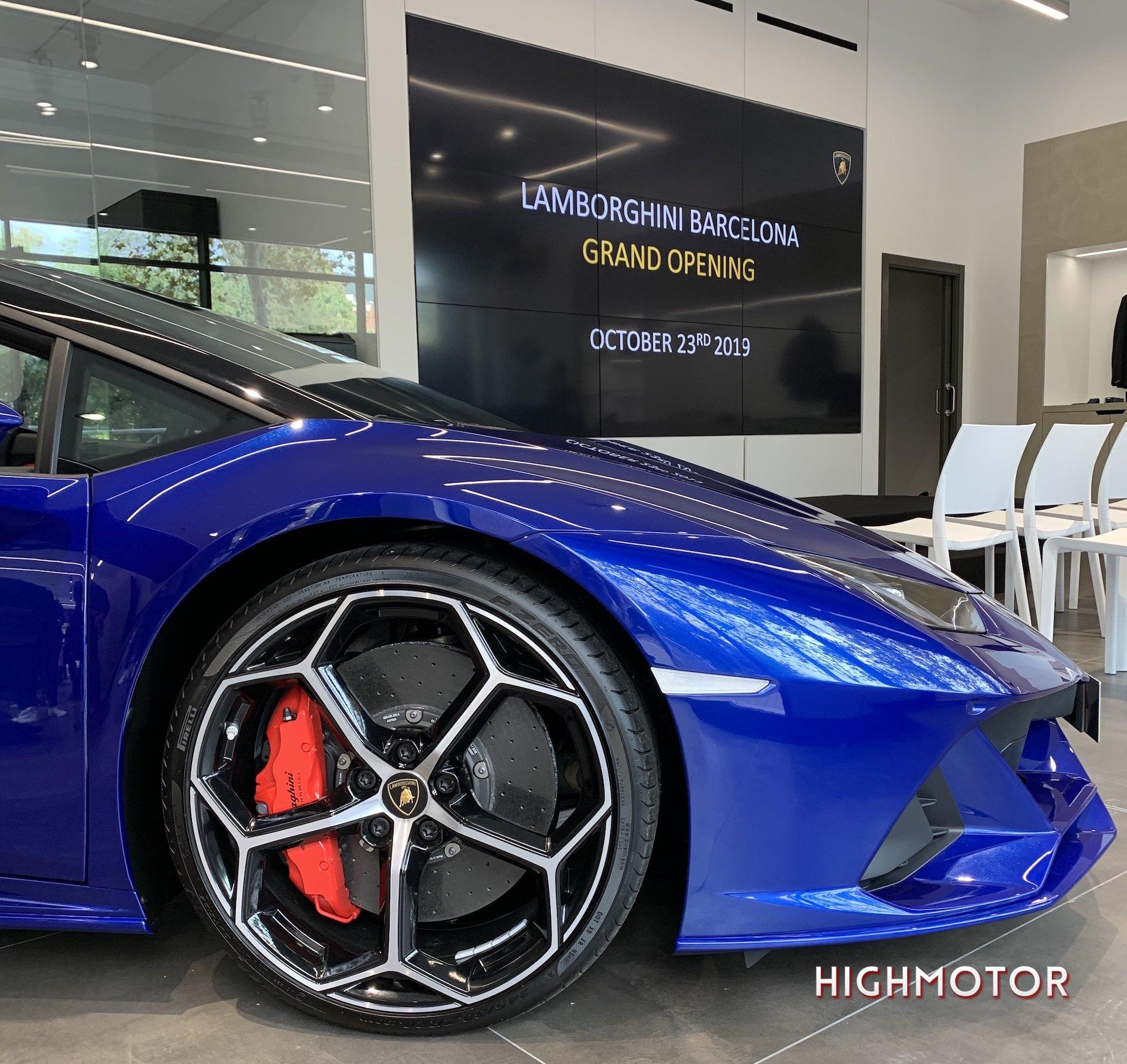 Lamborghini Barcelona 5