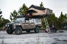 Land Rover Defender D110 Project Invictus, un todoterreno personalizado para atreverse con todo