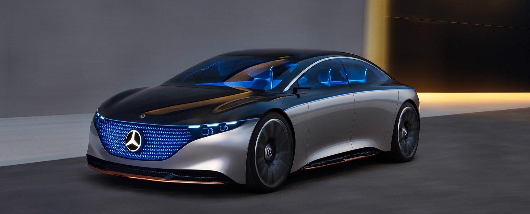 Mercedes Eqs Coche Del Futuro 1