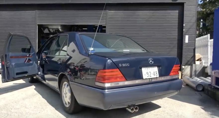 Mercedes S 600 Escape 1