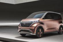 Nissan IMk, una pequeña muestra de lo que ofrecerá la marca japonesa para la ciudad