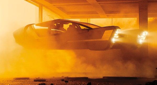 Porsche Coche Volador 4
