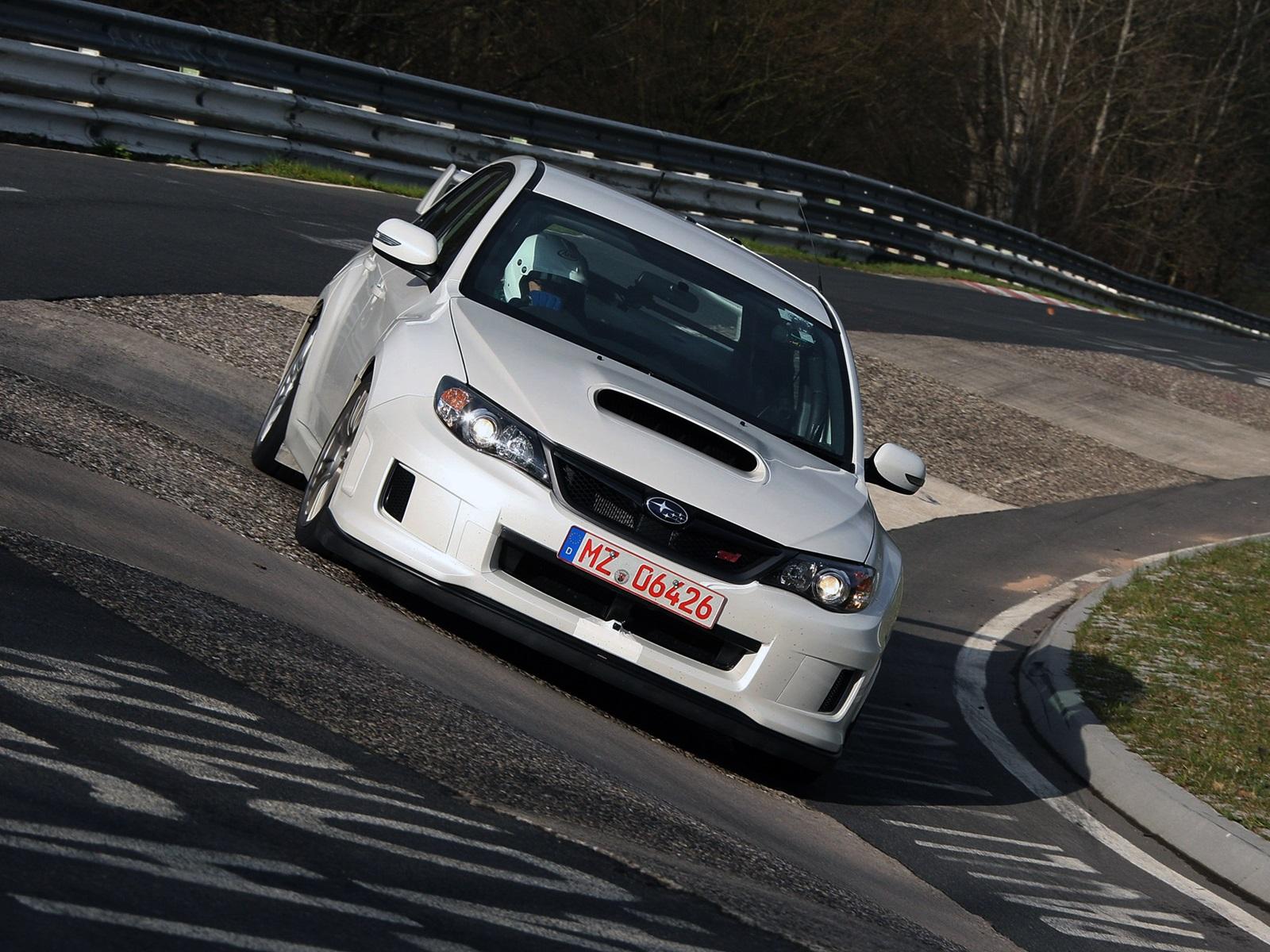 2011 Subaru Wrx Sti 4 Door At Nordschleife Nurburgring Germany