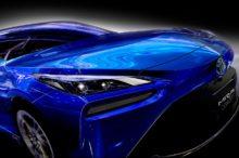 El Toyota Mirai, el coche de pila de combustible de hidrógeno pionero, se renueva en 2020