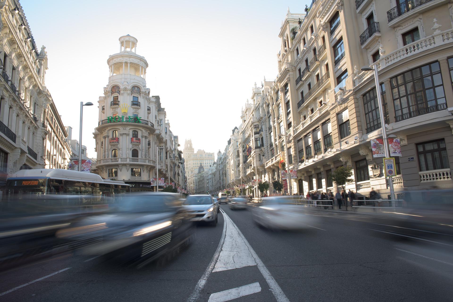 Trafico Madrid