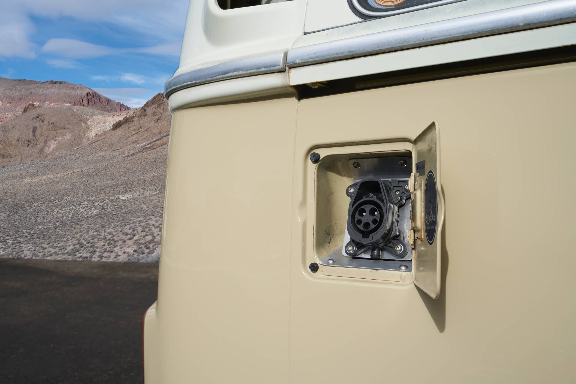 1972 Volkswagen Type 2 Bus With E Golf Electric Powertrain 1
