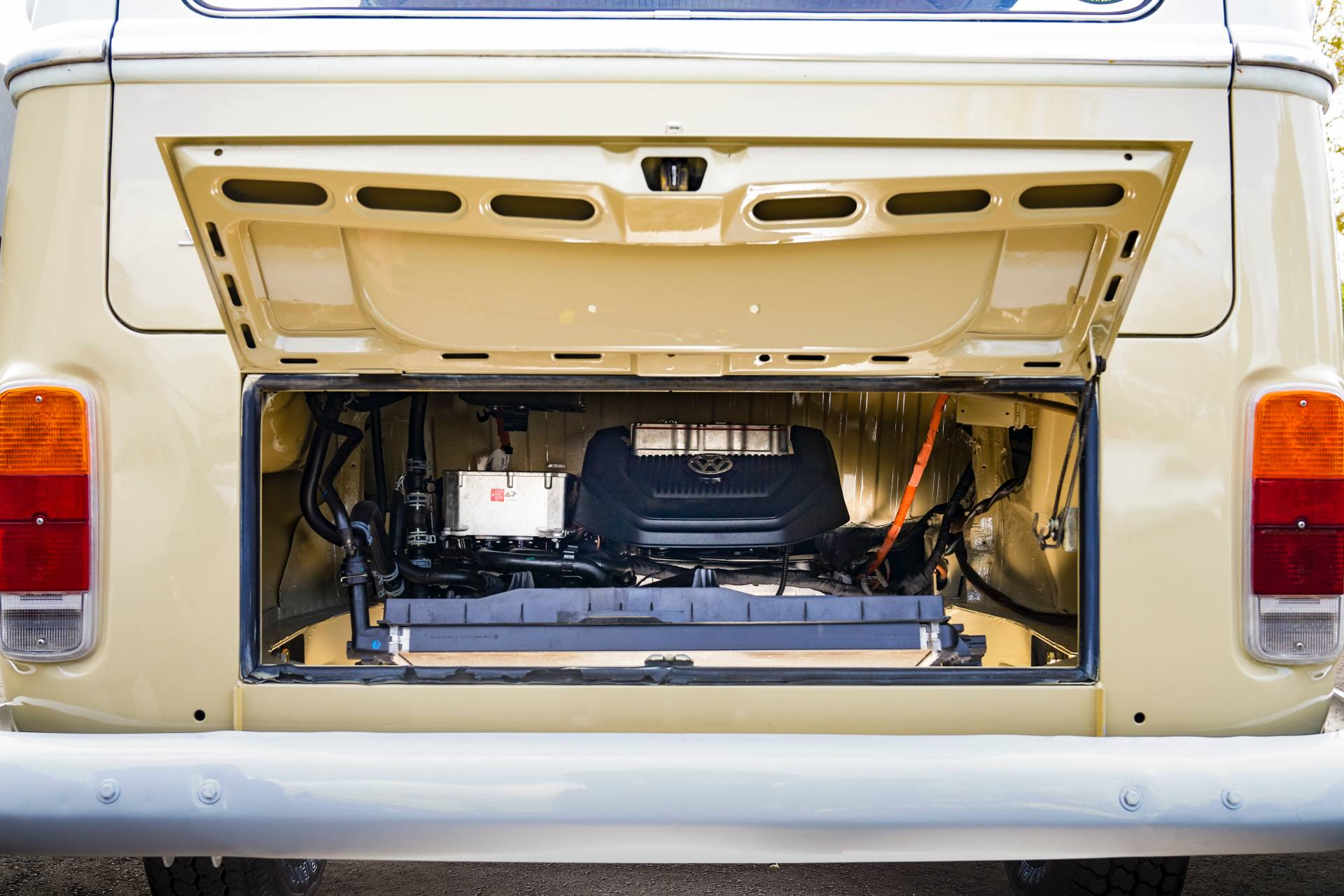 1972 Volkswagen Type 2 Bus With E Golf Electric Powertrain 15