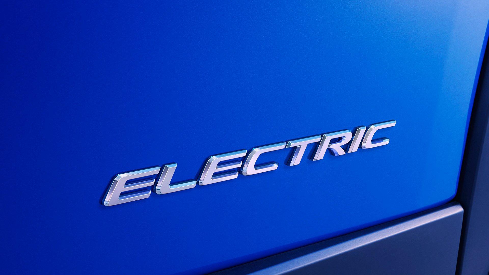 2020 Lexus Electric Production Vehicle Teaser