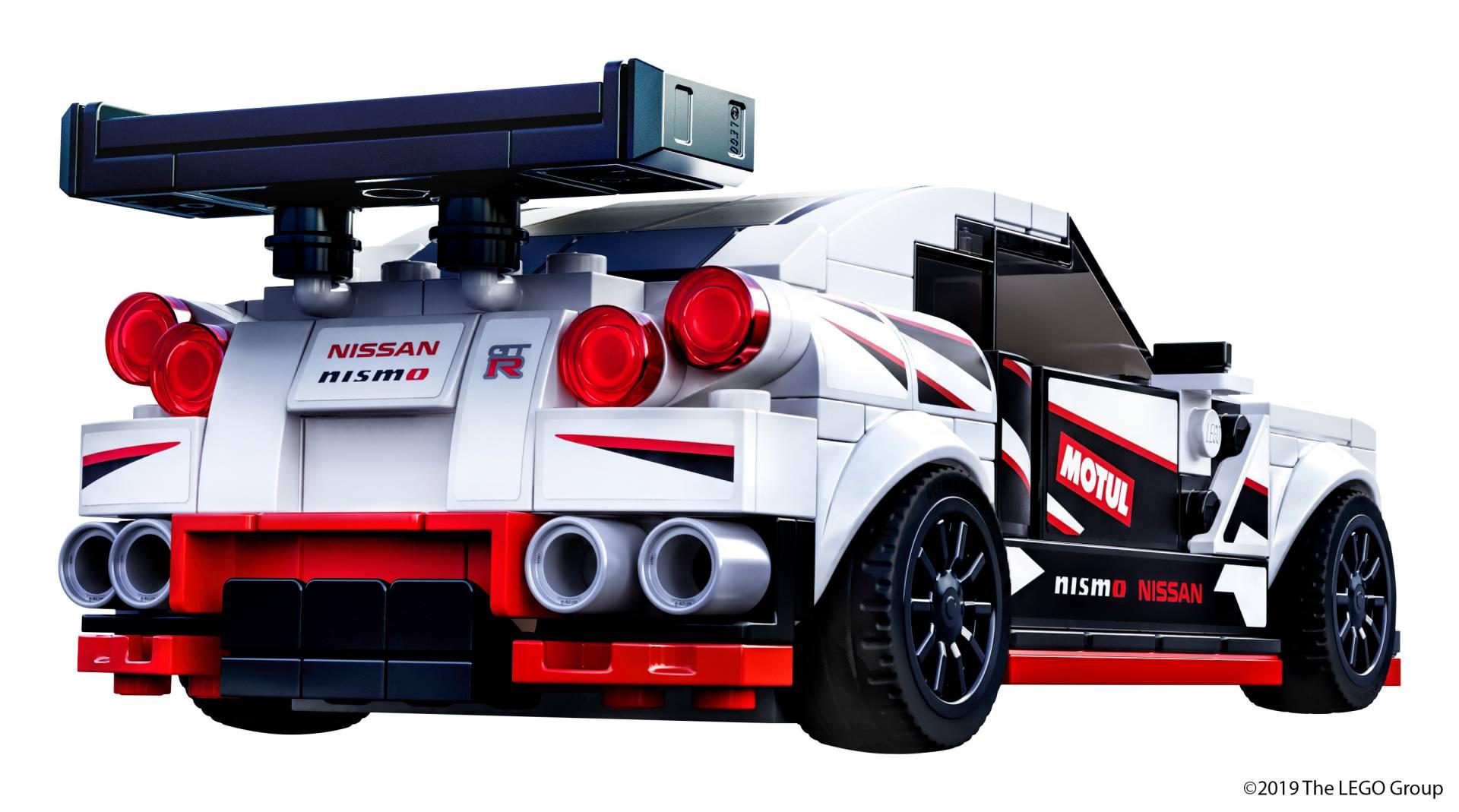 Lego Speed Champions Nissan Gt R Nismo 3