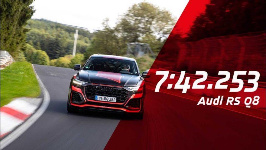 Audi Rs Q8 Nurburgring 1