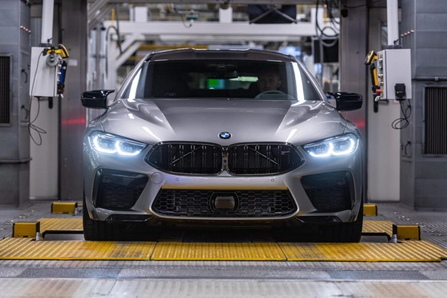 Bmw M8 Gran Coupe Produccion 1