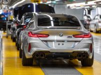 Bmw M8 Gran Coupe Produccion 2