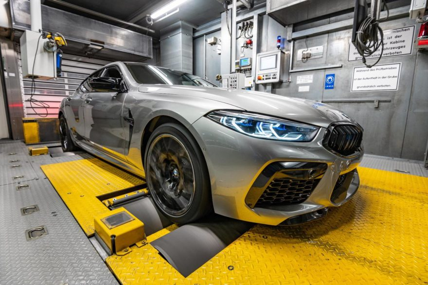 Bmw M8 Gran Coupe Produccion 9