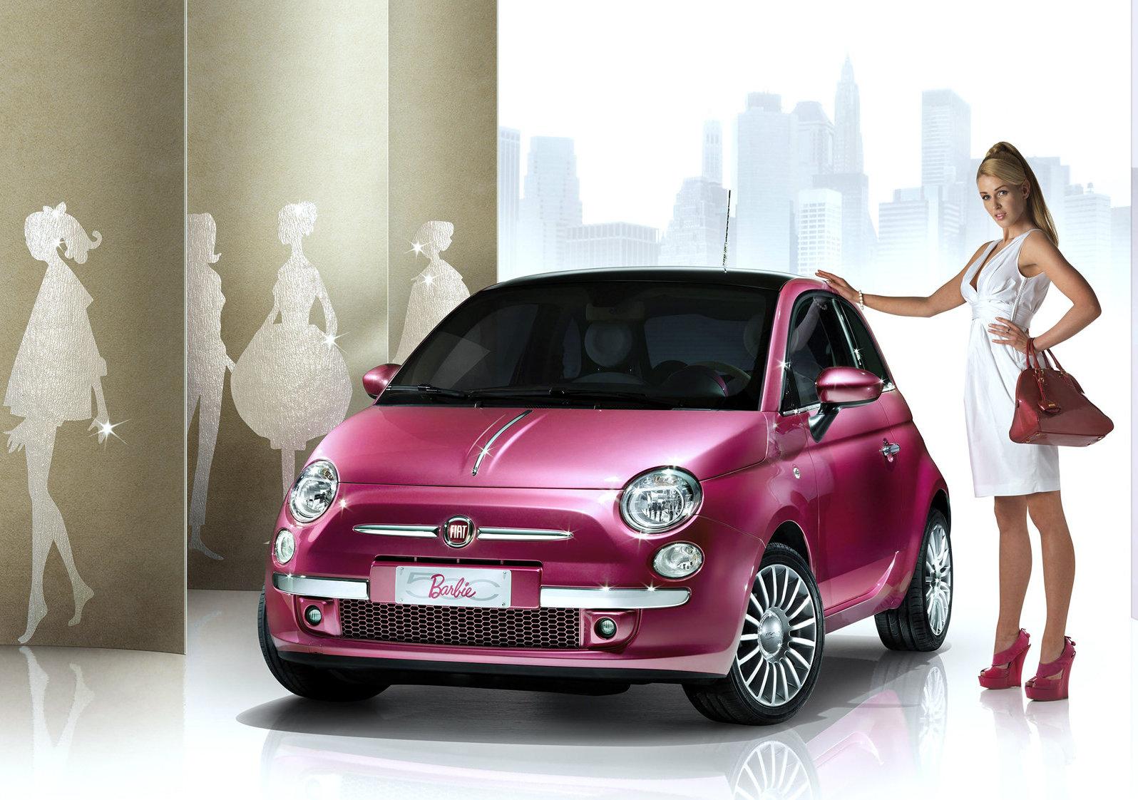Fiat 500 Barbie Concept 2009 1600 01