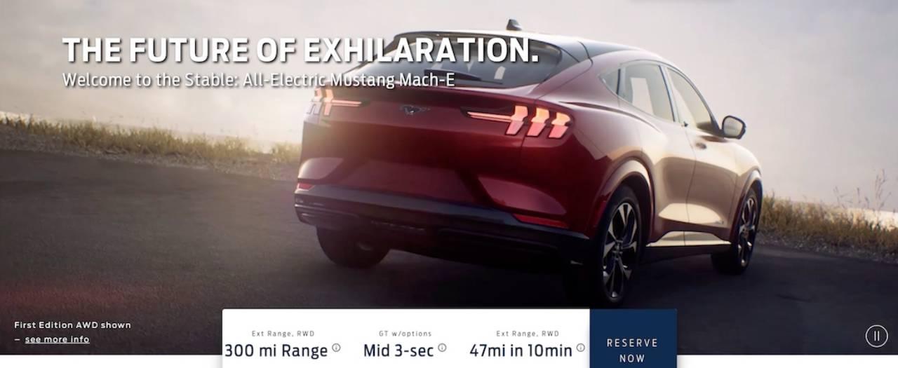 Ford Mustang Mach E Filtrado 1