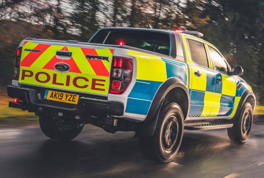 Ford Ranger Raptor Policia 3