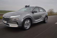 El Hyundai Nexo, el modelo con pila de combustible, recorre 778 km con una única carga de hidrógeno