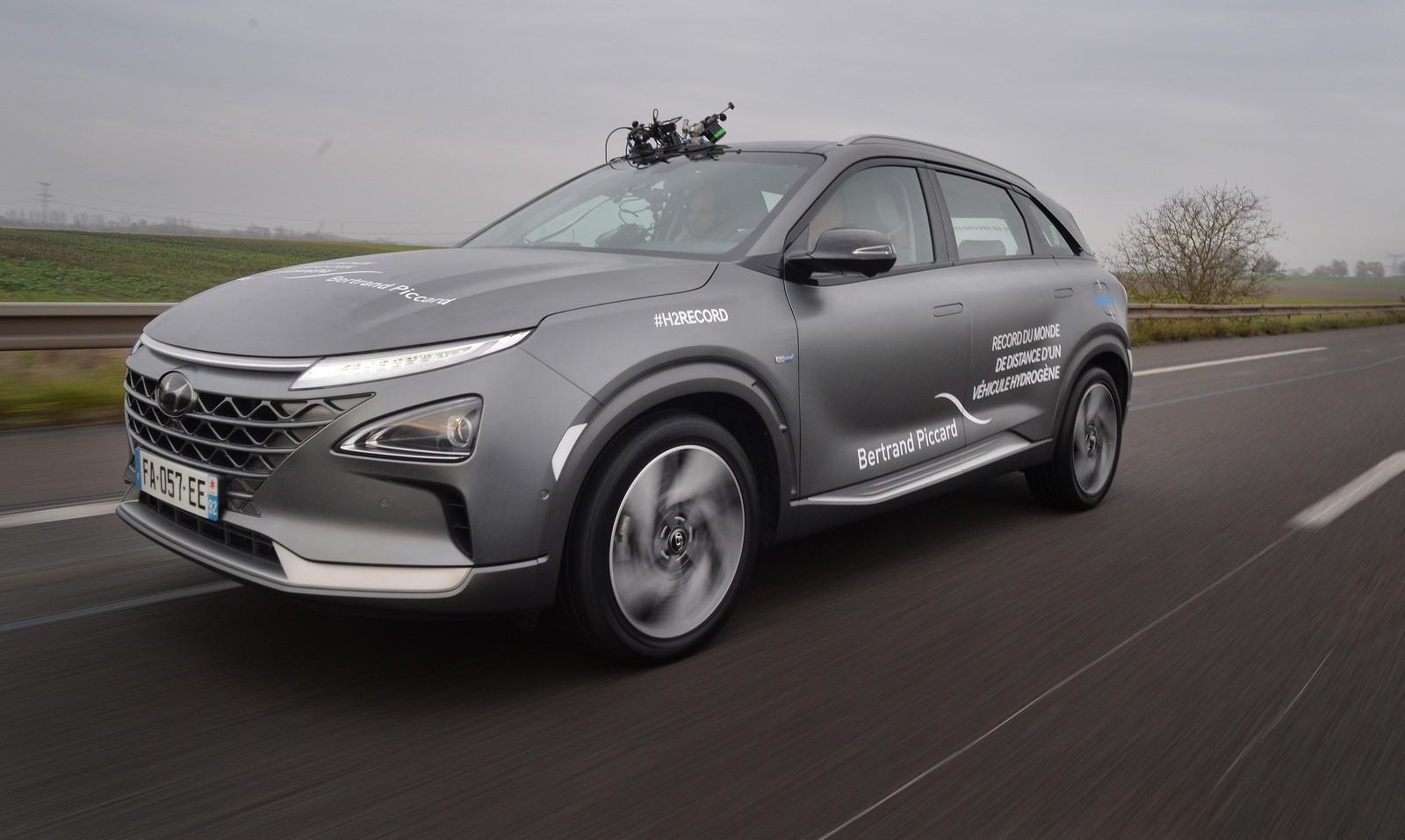 Hyundai Nexo record autonomía hidrógeno